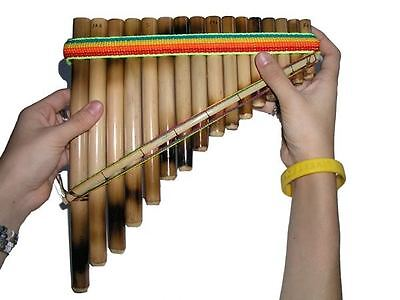 new Antara Panflute 16 pipe 1 row beginners pan flute Andean Sound easy learn on Rummage
