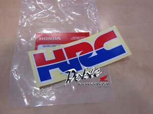 Genuine-HRC-Honda-Racing-Corporation-Decal-Sticker-Badge-The-Real-McCoy-x-1