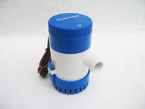12V-350-GPH-Water-BILGE-PUMP-Submersible-Yacht-Boat-Marine-Sea