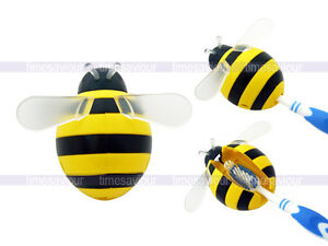 Yellow Bumble Bee Toothbrush Holder Suction Cup