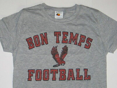 True Blood Bon Temps Football Logo Baby Doll Juniors Style T-shirt Size Small