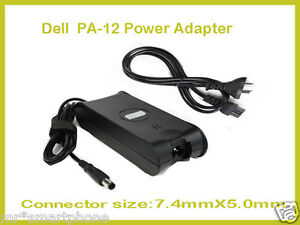PA-12 AC Power Adapter Battery Charger for Dell Latitude D600 D610 D620 D630