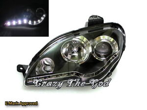 Proton Gen-2 04+ Pro R8Look HEADLIGHT Black for Proton