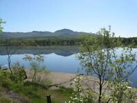 Chalet, lac d'Argent, Eastman, Estrie