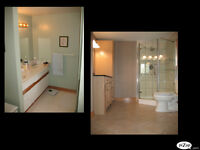 Complete bath and kitchen renos
