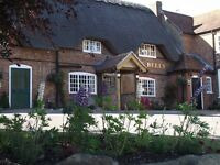 Assistant Management Couple for beautiful award winning pub in Berkshire, Live in with a great team
