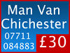 Man and Van Hire Removals Company Secure Self Storage Chichester 07711 084883 - Strongbox West Sussex