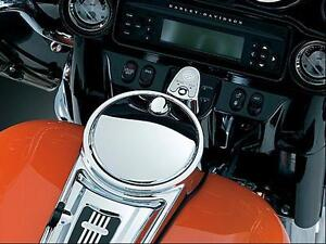 Kuryakyn-Push-Button-Fuel-Door-Latch-Harley-Touring-1467-2013-2012-2011-2010