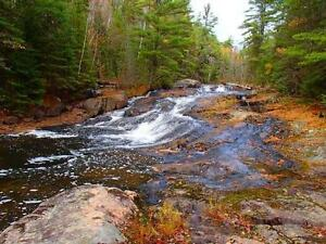 RECREATIONAL HUNTING PROPERTY WITH WATERFALLS