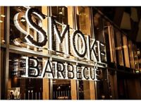 Smoke is looking for experienced Line Chefs