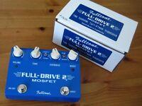 Fulltone Full drive 2 mosfet boost / distortion guitar dual foot pedal