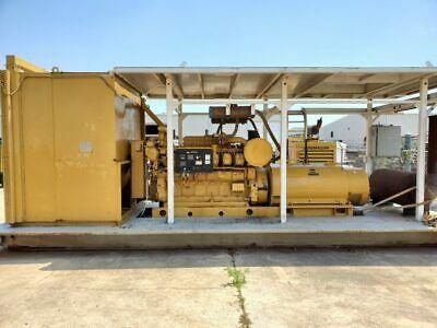 Used Cat 3512b Land Electric Generator Set - 1204kw 600v