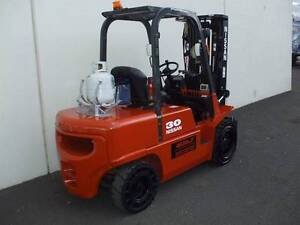 NISSAN FORKLIFT 3 TONNE LPG - Finance or (*Rent-To-Own *$92.2 pw) Ferntree Gully Knox Area Preview