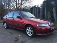 ROVER 400 1.4 LITRE LOW MILES FOR AGE GREAT CONDITION NO MOT SPARES OR REPAIRS CHEAP CAR