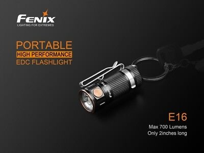 Fenix E16 LED Taschenlampe Cree XP-L HI LED 700 Lumen bis 142m Reichweite 700 Lumen Led
