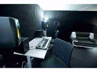 Fort Rockaville rehearsal and music production studios monthly hire BN41