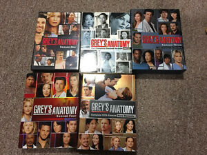 Greys Anatomy Season 1-5