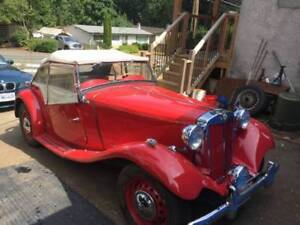 1951 MG TD ......  Plus four other Classic Cars For Sale