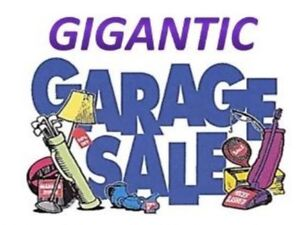 BIG GARAGE SALE TOMORROW! clear out everything