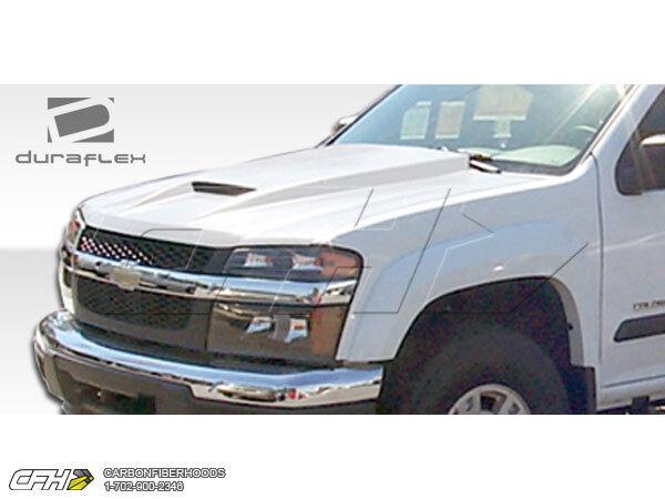 FRP Chevrolet Colorado GMC Canyon RAM Air Hood Kit Auto Body 1pc 04 06 Great