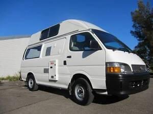 Toyota Hiace Ex-Rental Campervan for sale - Sydney.  Woolloomooloo Inner Sydney Preview