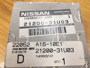 Nissan thermostat for 370Z and Altima
