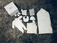 Dior clothes bundle and Harrods blanket - all brand new