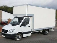 Man and Van BIG Luton Van with Tail Lift 24/7 Removal Service