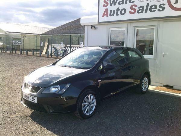2016 SEAT IBIZA SOL 1L ONLY 5,096 MILES, FULL SERVICE HISTORY