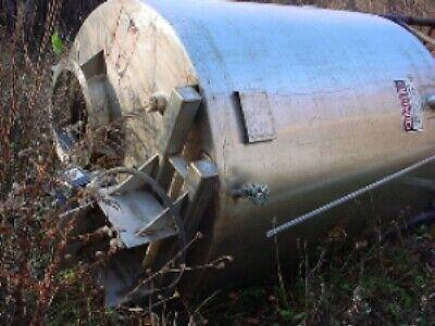 530 Gallon 304 Stainless Steel Tank