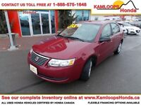 2006 Saturn Ion Sedan .2 Midlevel with Lots of Cargo Space!