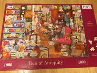 """Jigsaw puzzle """"den of antiquity"""""""