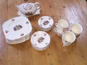 alfred meakin queen elizabeth coronation china set