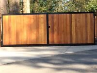 Fence installation 10 % off book estimate today