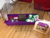 Large rabbit / guinea pig indoor cage