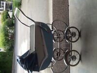 Antique child's baby carriage