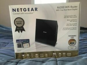 NETGEAR R6200 Dual Band Gigabit Router