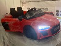 Latest 2020 RED Model Official Licensed Audi R8 Spyder 12V Children's Ride On Car parental control
