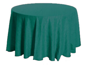Crinkle tafetta table cover - Table Cloth - Event Decor - 10%off
