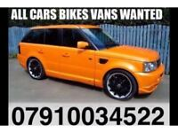 Ø791ØØ 34522 CARS VANS MOTORCYCLE WANTED FOR CASH BUY YOUR SCRAP SELL MY CAR EAST LONDON W