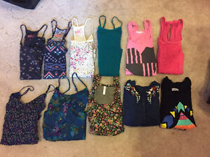 11 different tank tops for 10 bucks!