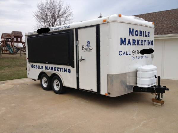 Mobile Marketing Trailer