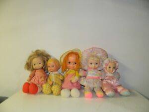 Vintage Old Collector Dolls (5) from early 70's beautiful dolls