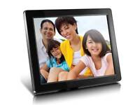 Aluratek 12 inch Digital Photo Frame with 512 MB Built-in Memory