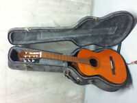 Deal! Classical guitar with very solid case. Has to go!