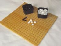 """""""Go"""" board game and stones"""