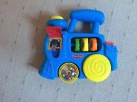Fisher price push along train with sounds