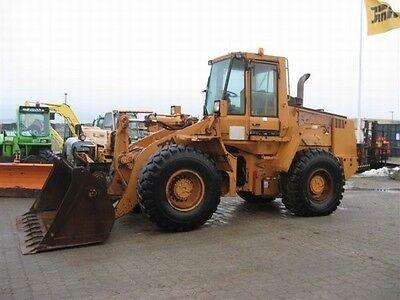 Best Case 621c 721c 821c Wheel Loader Service Repair Maintenance Manual Cd