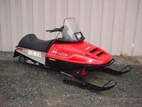 Wanted a snowmobile