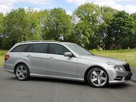 Mercedes-Benz E-CLASS E350 CDI BLUEEFFICIENCY S/S AVANTGARDE (silver) 2012
